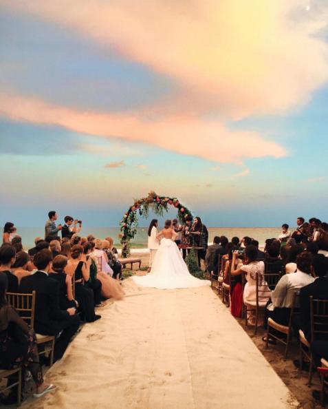 La mediática boda de Dulceida y Alba
