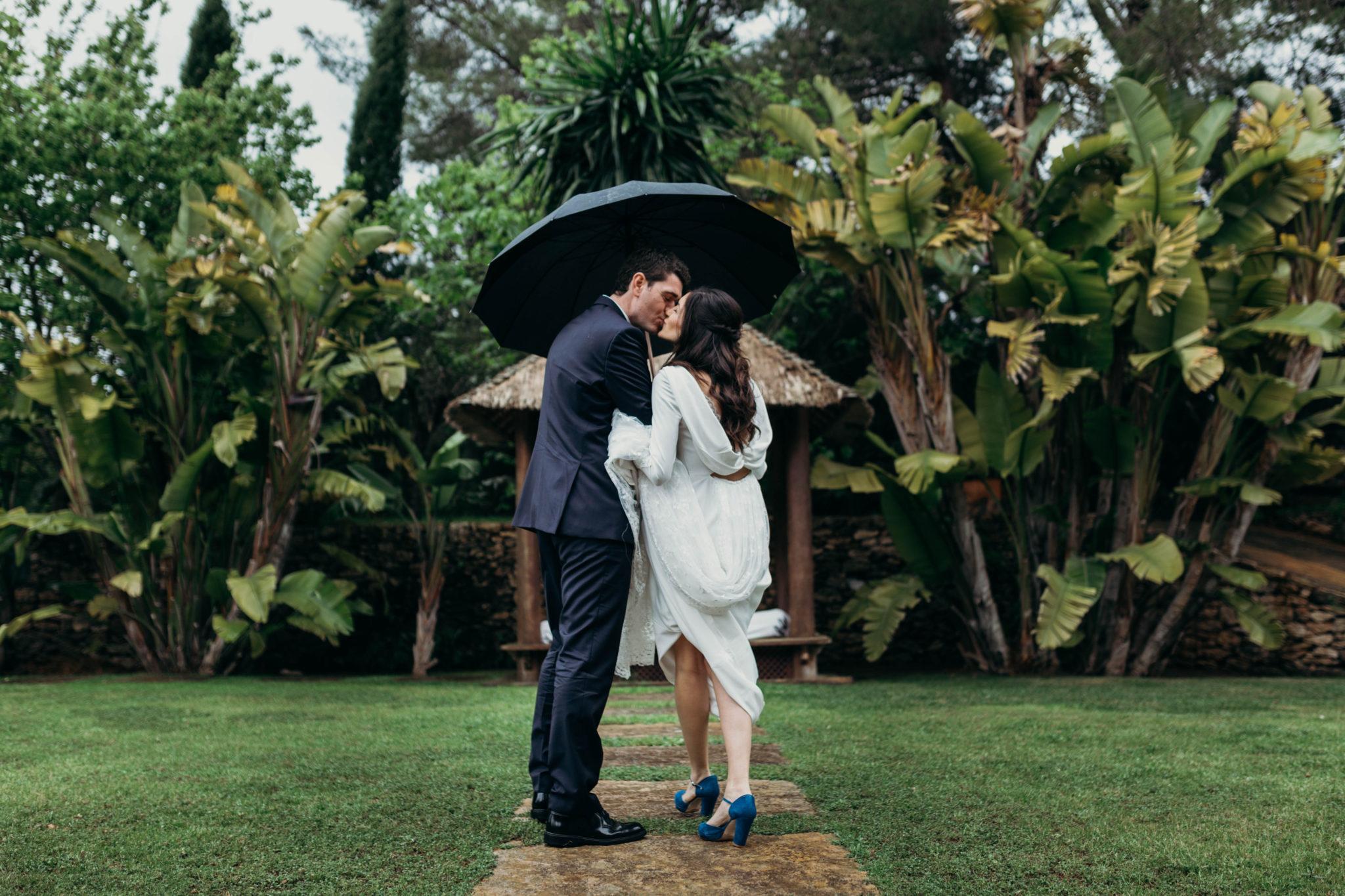Maria i Xavier, una boda afortunada