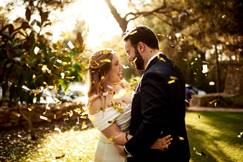 Luis y Georgina, una boda convertida en fiestón