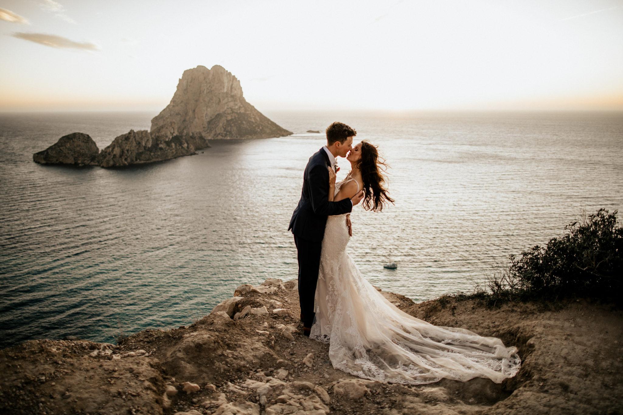 Jasmin y Oliver, la mágica boda íntima