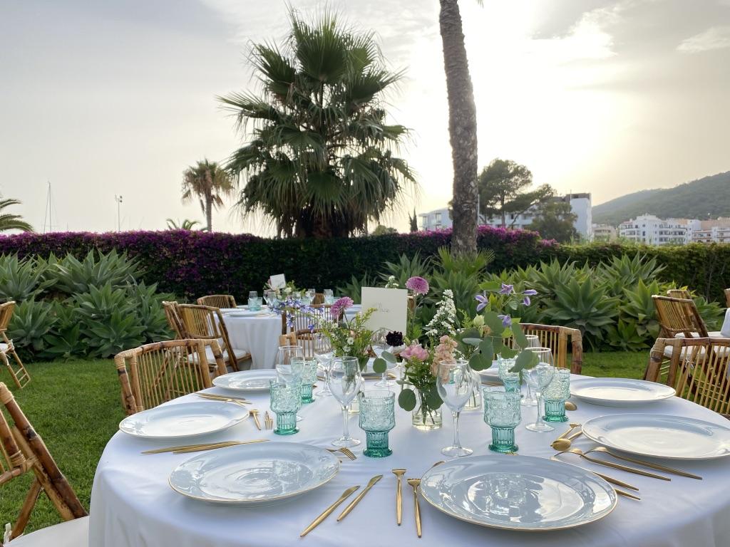 Banquete en Hotel Aguas de Ibiza