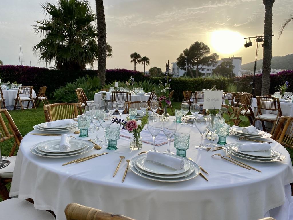 shabbat en Ibiza hotel aguas de ibiza the ibiza wedding planner